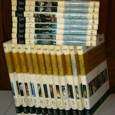 Enciclopedias de segunda mano: DICCIONARIO Y ENCICLOPEDIAS 24T DE LA EDITORIAL ESPASA CALPE Y DIARIO ABC EN MADRID 1998. Lote 51086335