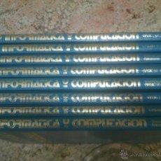 Enciclopedias de segunda mano - INFORMÁTICA Y COMPUTACIÓN 8 TOMOS COMPLETA - 51211742