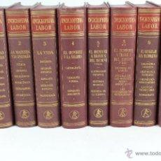 Enciclopedias de segunda mano: L-5384. ENCICLOPEDIA LABOR. OCHO TOMOS. EDITORIAL LABOR. AÑO 1957.. Lote 51477128