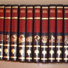 Enciclopedias de segunda mano: AULA: CURSO DE ORIENTACIÓN ESCOLAR. DIEZ TOMOS. RM71859.. Lote 52447148