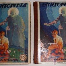 Enciclopedias de segunda mano: ENCICLOPEDIA PP - ESCOLAPIOS. PRIMERO Y SEGUNDO GRADO (1941-1942) VER FOTOS INDICE.. Lote 52769048