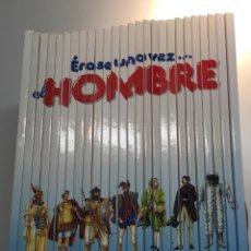 Enciclopedias de segunda mano: ÉRASE UNA VEZ EL HOMBRE, COLECCIÓN COMPLETA 26 TOMOS. Lote 53022879
