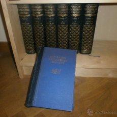 Enciclopedias de segunda mano: DICCIONARIO ENCICLOPEDICO ABREVIADO ESPASA-CALPE 1957. 7 VOLÚMENES. Lote 53034891