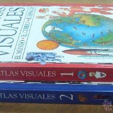 Enciclopedias de segunda mano: LOS GRANDES ATLAS VISUALES TOMOS 1 Y 2 (EL PERIODICO 1991) VER FOTOS. Lote 53079852