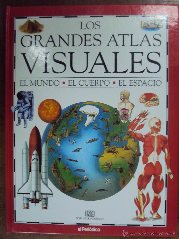 Enciclopedias de segunda mano: LOS GRANDES ATLAS VISUALES TOMOS 1 Y 2 (EL PERIODICO 1991) VER FOTOS - Foto 2 - 53079852