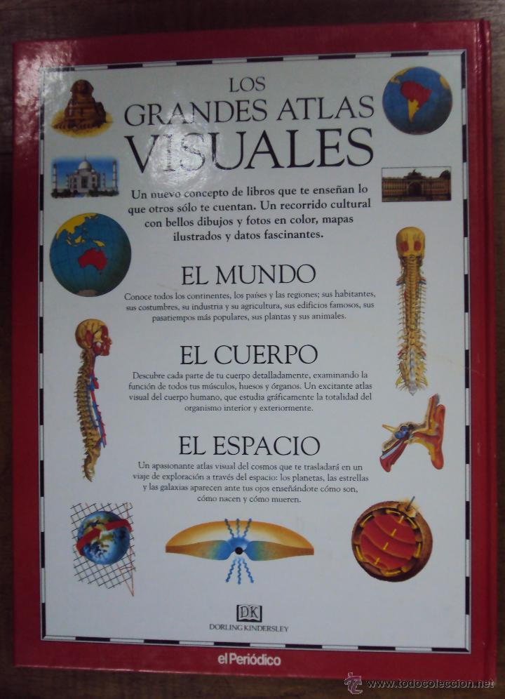 Enciclopedias de segunda mano: LOS GRANDES ATLAS VISUALES TOMOS 1 Y 2 (EL PERIODICO 1991) VER FOTOS - Foto 3 - 53079852