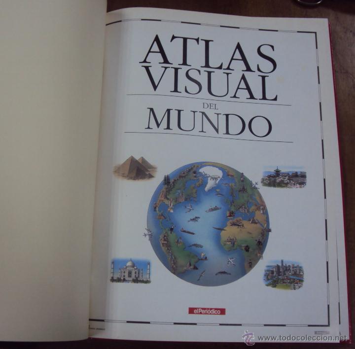 Enciclopedias de segunda mano: LOS GRANDES ATLAS VISUALES TOMOS 1 Y 2 (EL PERIODICO 1991) VER FOTOS - Foto 8 - 53079852
