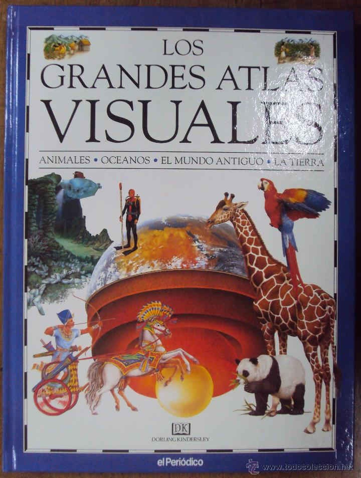 Enciclopedias de segunda mano: LOS GRANDES ATLAS VISUALES TOMOS 1 Y 2 (EL PERIODICO 1991) VER FOTOS - Foto 9 - 53079852