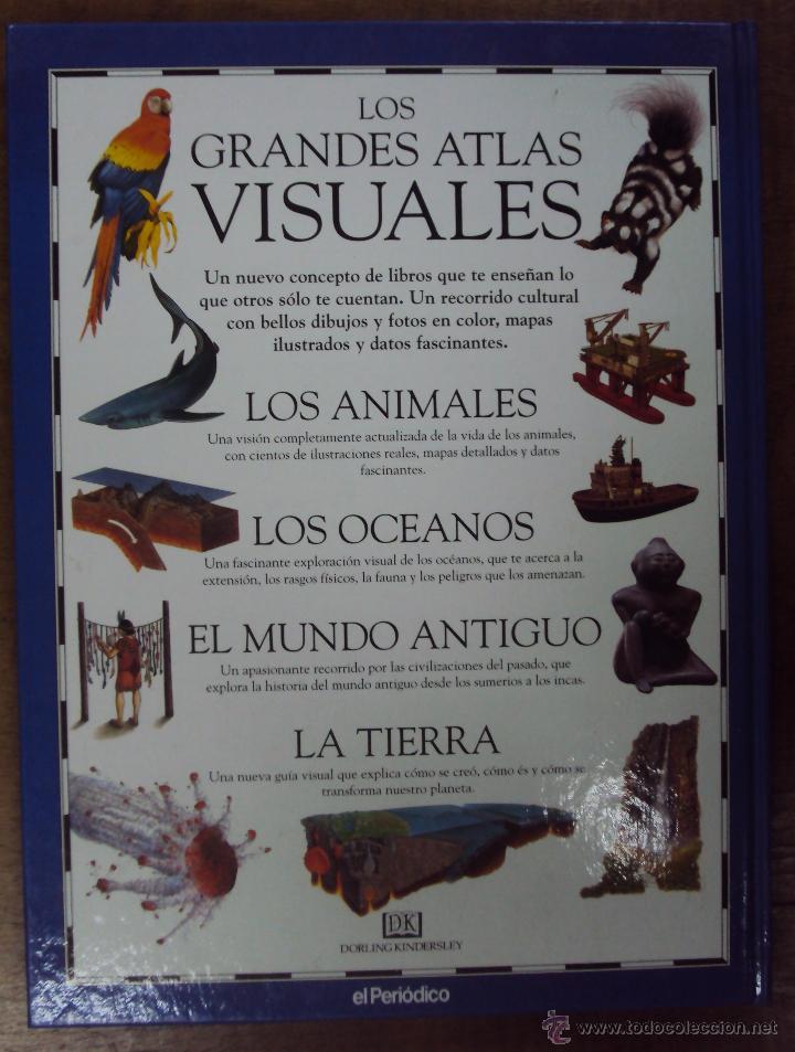 Enciclopedias de segunda mano: LOS GRANDES ATLAS VISUALES TOMOS 1 Y 2 (EL PERIODICO 1991) VER FOTOS - Foto 10 - 53079852