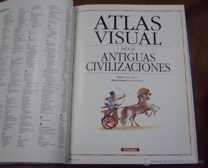Enciclopedias de segunda mano: LOS GRANDES ATLAS VISUALES TOMOS 1 Y 2 (EL PERIODICO 1991) VER FOTOS - Foto 14 - 53079852
