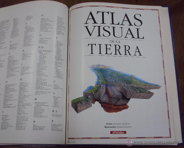 Enciclopedias de segunda mano: LOS GRANDES ATLAS VISUALES TOMOS 1 Y 2 (EL PERIODICO 1991) VER FOTOS - Foto 15 - 53079852