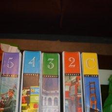 Enciclopedias de segunda mano: HOME ENGLISH. NATURAL WAY. 5 CARPETAS. Lote 53309920
