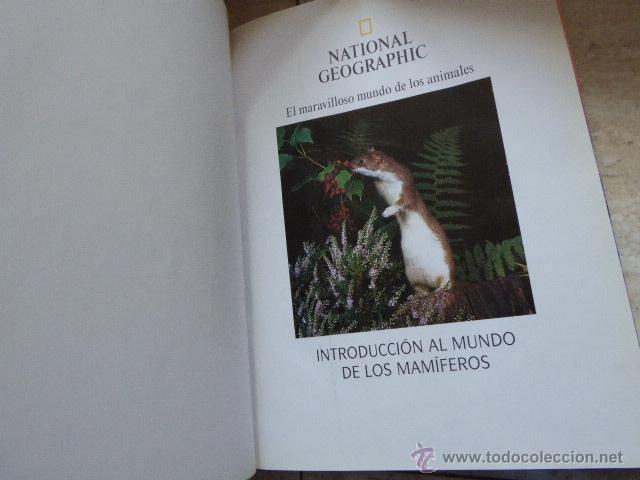 Enciclopedias de segunda mano: EL MARAVILLOSO MUNDO DE LOS ANIMALES. NATIONAL GEOGRAPHIC, 2000. 17 TOMOS. - Foto 5 - 53470012
