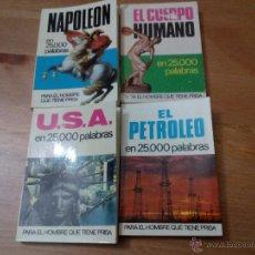 Enciclopedias de segunda mano: EN 25.000 PALABRAS, EDITORIAL BURGUERA. Lote 53512048