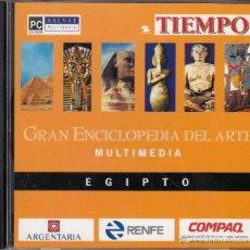 Enciclopedias de segunda mano: 8 CD-ROM. GRAN ENCICLOPEDIA DEL ARTE MULTIMEDIA. DESDE EGIPTO AL REALISMO/IMPRESIONISMO.. Lote 54057310