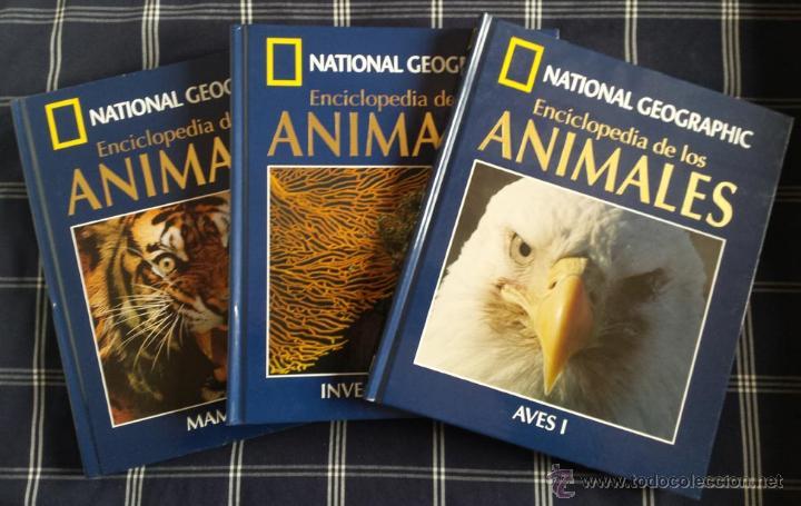 enciclopedia de los animales national geographi - Comprar