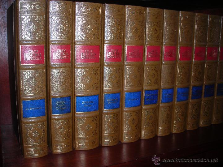 GRAN HISTORIA UNIVERSAL (11 TOMOS). DE CLUB INTERNACIONAL DEL LIBRO (MADRID). (Libros de Segunda Mano - Enciclopedias)