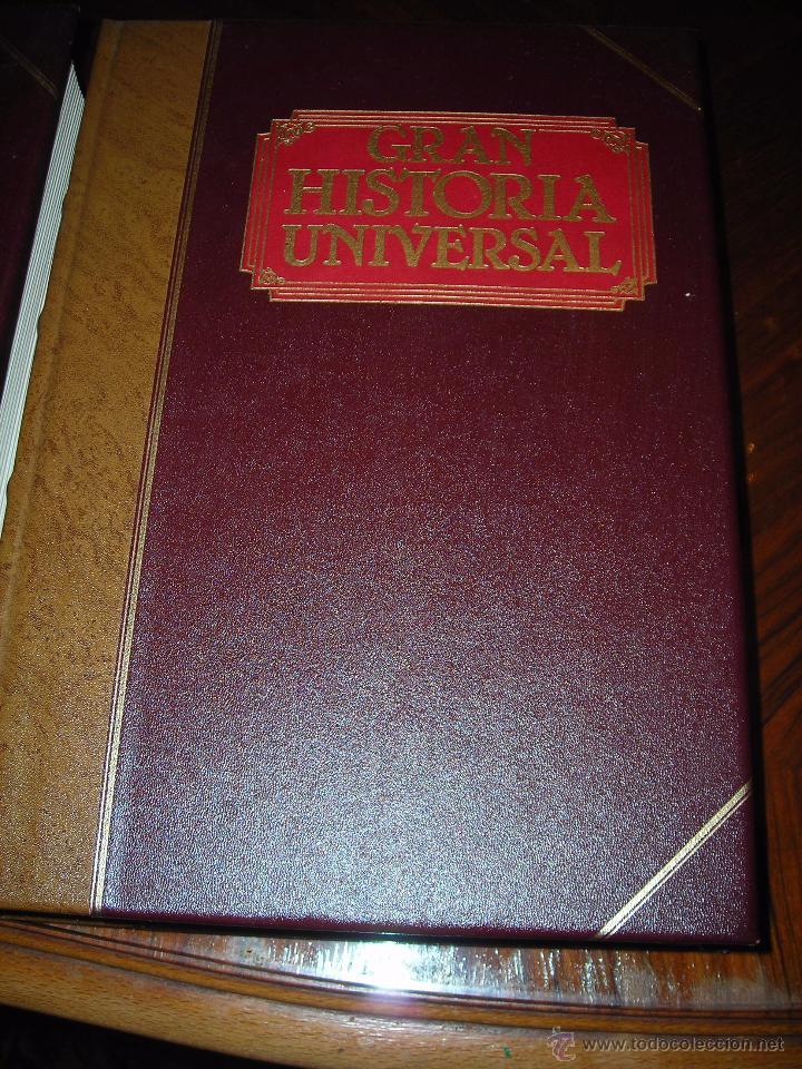Enciclopedias de segunda mano: GRAN HISTORIA UNIVERSAL (11 Tomos). De CLUB INTERNACIONAL DEL LIBRO (MADRID). - Foto 2 - 54096869