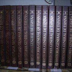 Enciclopedias de segunda mano: HISTORIA GENERAL DE ESPAÑA (12 TOMOS) DE EDITORIAL PLANETA.. Lote 54247706