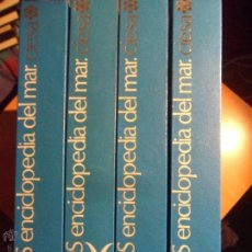 Enciclopedias de segunda mano: ALBATROS. ENCICLOPEDIA DEL MAR. 4 TOMOS. COMPAÑIA INTERNACIONAL EDITORA. 1978. TAPA DURA. 27 X 25 CM. Lote 54259893