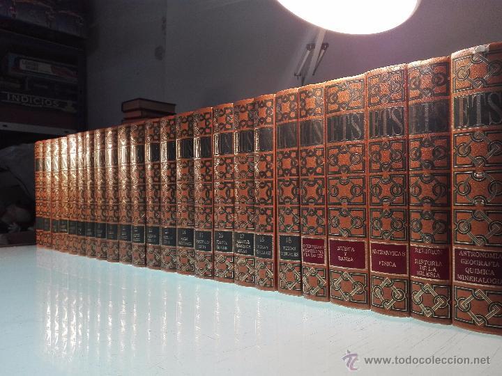 TREMENDA ENCICLOPEDIA UNIVERSAL SOPENA COMPUESTA DE 25 VOLÚMENES - BARCELONA - 1981 - (Libros de Segunda Mano - Enciclopedias)