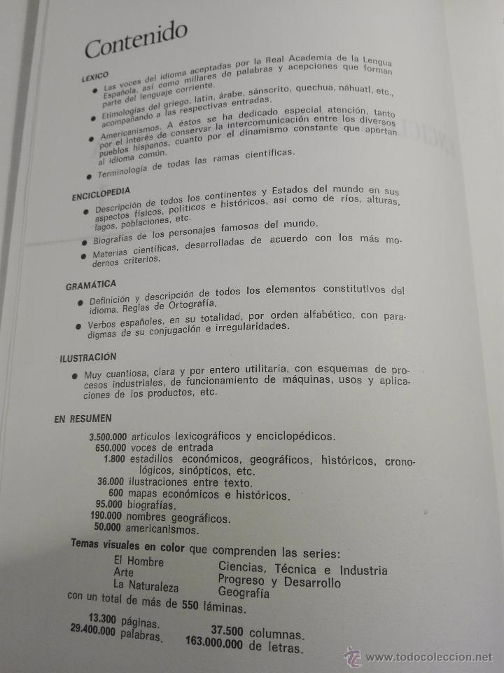 Enciclopedias de segunda mano: TREMENDA ENCICLOPEDIA UNIVERSAL SOPENA COMPUESTA DE 25 VOLÚMENES - BARCELONA - 1981 - - Foto 7 - 54400179