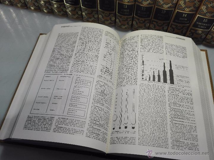 Enciclopedias de segunda mano: TREMENDA ENCICLOPEDIA UNIVERSAL SOPENA COMPUESTA DE 25 VOLÚMENES - BARCELONA - 1981 - - Foto 10 - 54400179