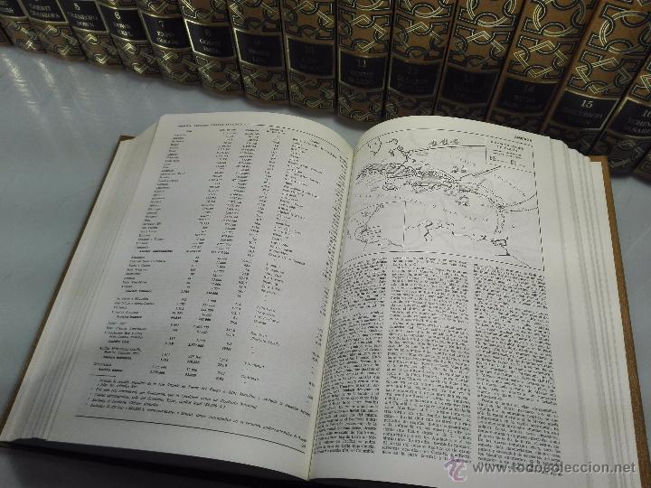 Enciclopedias de segunda mano: TREMENDA ENCICLOPEDIA UNIVERSAL SOPENA COMPUESTA DE 25 VOLÚMENES - BARCELONA - 1981 - - Foto 12 - 54400179
