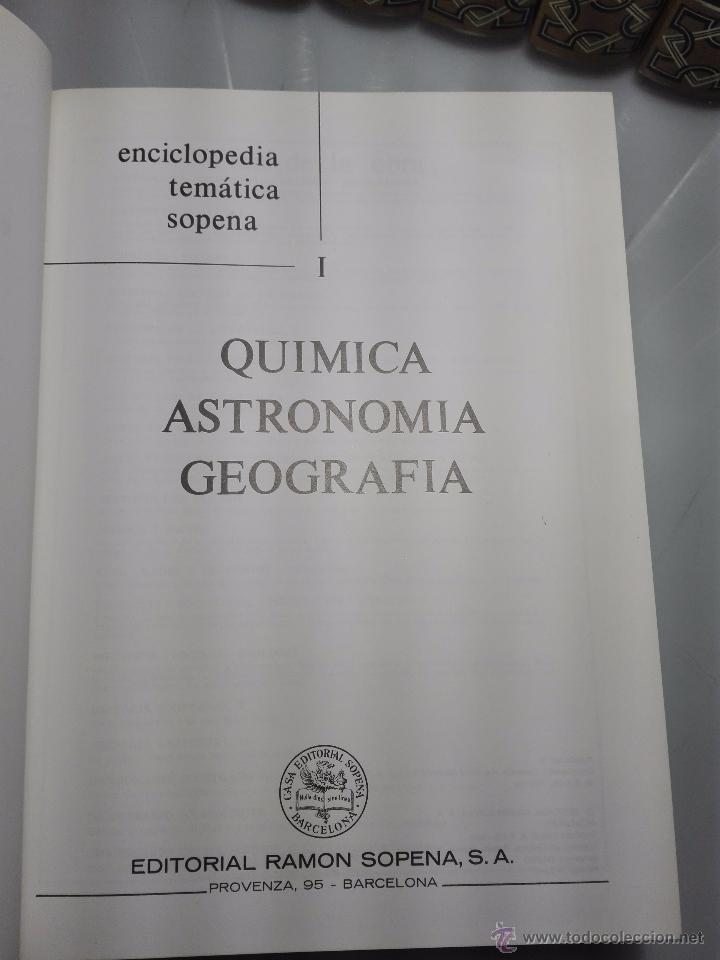 Enciclopedias de segunda mano: TREMENDA ENCICLOPEDIA UNIVERSAL SOPENA COMPUESTA DE 25 VOLÚMENES - BARCELONA - 1981 - - Foto 15 - 54400179
