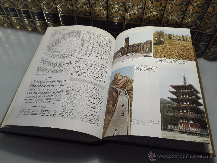 Enciclopedias de segunda mano: TREMENDA ENCICLOPEDIA UNIVERSAL SOPENA COMPUESTA DE 25 VOLÚMENES - BARCELONA - 1981 - - Foto 21 - 54400179