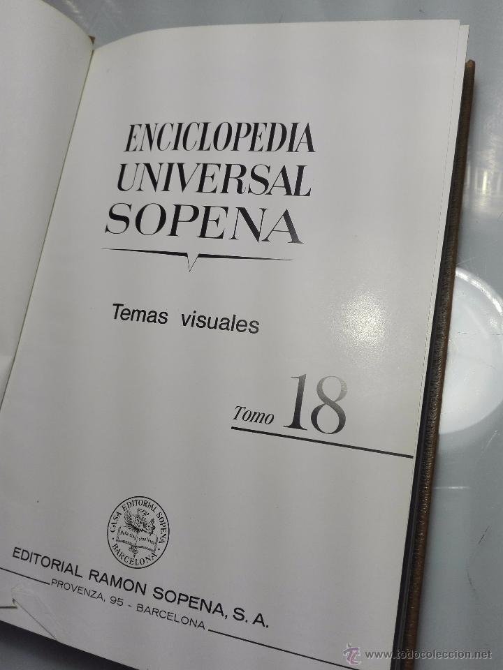Enciclopedias de segunda mano: TREMENDA ENCICLOPEDIA UNIVERSAL SOPENA COMPUESTA DE 25 VOLÚMENES - BARCELONA - 1981 - - Foto 23 - 54400179
