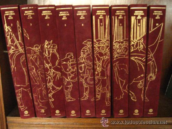 Historia universal del arte planeta 10 tomos comprar enciclopedias en todocoleccion 54564757 - Libreria segunda mano online ...