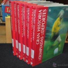 Enciclopedias de segunda mano - gran historia de las olimpiadas y de los juegos olimpicos - 6 tomos completa - artel - 54606326