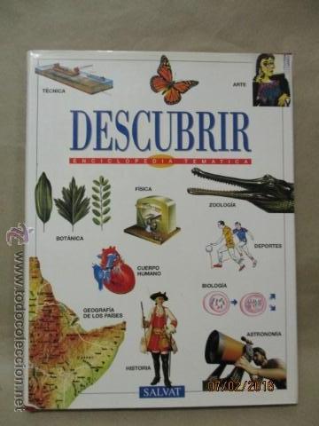DESCUBRIR Nº 9 LA ENCICLOPEDIA DE LA EDAD ESCOLAR (Libros de Segunda Mano - Enciclopedias)
