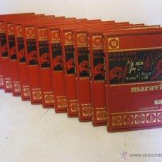 Enciclopedias de segunda mano: 12 TOMOS ENCICLOPEDIA COMPLETA DIDACTICA MARAVILLAS DEL SABER. Lote 55028403