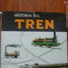 Enciclopedias de segunda mano: HISTORIA DEL TREN.VERGARA.1963. Lote 55160310