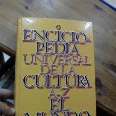 Livros em segunda mão: LIBRO ENCICLOPEDIA UNIVERSAL DE LA CULTURA DE A-Z EL MUNDO 1996 L-11475. Lote 55168712