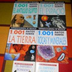Enciclopedias de segunda mano: 6 ENCICLOPEDIAS DE BOLSILLO. Lote 55342501