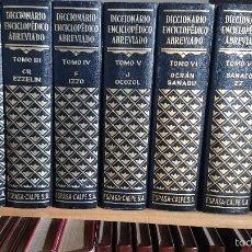 Enciclopedias de segunda mano - DICCIONARIO ENCICLOPÉDICO ABREVIADO 7 TOMOS + APÉNDICE. ESPASA-CALPE - 55396098