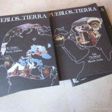 Enciclopedias de segunda mano: PUEBLOS DE LA TIERRA - COMPLETA (11 TOMOS) - BURULAN EDICIONES 1974. Lote 56000309