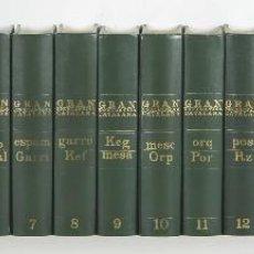 Enciclopedias de segunda mano: 7379 - GRAN ENCICLOÈDIA CATALANA. 18 TOMOS(VER DESCRIP). CARRERAS. 1970-1993.. Lote 56200393