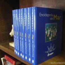 Enciclopedias de segunda mano: ENCICLOPEDIA DEL MAR , AUPPER. 8 TOMOS COMO NUEVA. Lote 56347227
