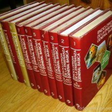 Enciclopedias de segunda mano: ENCICLOPEDIA DE LA ENSEÑANZA GENERAL BÁSICA 10T DE ED. PLAZA JANÉS EN BARCELONA 1977 (COMPLETA). Lote 56540024
