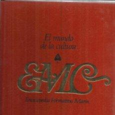 Enciclopedias de segunda mano: ENCICLOPEDIA FORMATIVA MARÍN. EL MUNDO DE LA CULTURA. TOMO 3. EDITORIAL MARÍN. BARCELONA. 1975. Lote 56734634