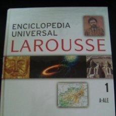 Enciclopedias de segunda mano: ENCICLOPEDIA LAROUSSE 1. A- ALE. EDITORIAL LAROUSSE. NUEVO.. Lote 56879716