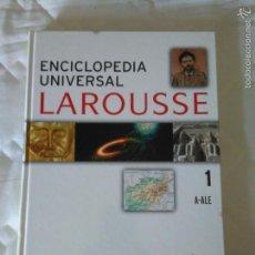 Enciclopedias de segunda mano: ENCICLOPEDIA UNIVERSAL LAROUSE. TOMO 1 (2006). Lote 57168807