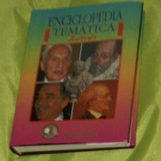 Libri di seconda mano: DICCIONARIO DE BIOGRAFÍAS, ENCICLOPEDIA TEMÁTICA ILUSTRADA. Lote 57527430