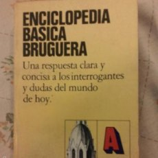 Enciclopedias de segunda mano: ENCICLOPEDIA BASICA BRUGUERA - BRUGUERA - ESPAÑA - 1979. Lote 57584905