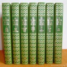 Enciclopedias de segunda mano: LOTE DE 7 TOMOS:EL MUNDO DE LA MUJER-PLAZA & JANES EDITORES S.A.. Lote 57654937
