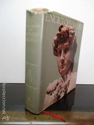 Enciclopedias de segunda mano: ENCICLOPEDIA DEL MUNDO BIBLICO. TOMO - 2 (TOMO II, I-Z). - Foto 2 - 57810770